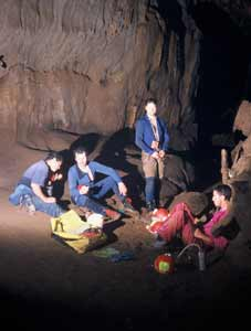 Found by Cuban Speleologists in the Boquerones Cave System Fossils of the Pleistocene Epoch