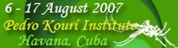 10th International Course on Dengue to be held in Cuba