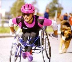 Discapacitados cubanos en la practica del deporte