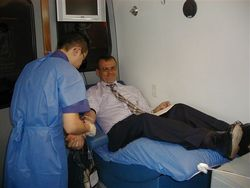 PAHO official praised Cuba for its efficiency regarding the collection of blood donations