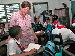 Education Professionals Return to the Classrooms in Ciego of Avila Cuba