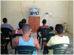 Students Are Main Public in Community Video Rooms of Las Tunas, Cuba
