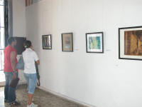 In Sancti Spiritus Cuba First Hall of engraving of art instructors