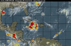 Inhabitants of Las Tunas, Cuba Watch Tropical Storm Fay