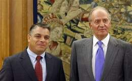 Spanish King Meets Cuban Foreign Minister