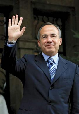 Presidents Raul Castro Felipe Calderon Meet in Summit