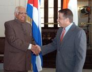 Indian House Speaker Praises Cuba