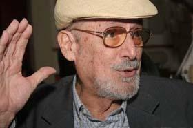 El cubano Roberto Fernandez Retamar y el boliviano Jorge Sanjines Premios Culturales del ALBA