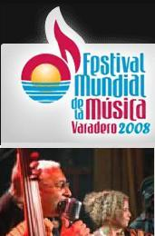 Dyango Represas and 130 Musical Groups at Varadero World Festival in the world famous Cuban beach