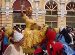 El Festival del Caribe concluyo en Santiago de Cuba
