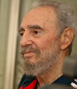 Fidel's Castro, new reflectiones: Bush, hunger and death