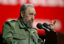 Fidel Castro sent clear message to George Bush
