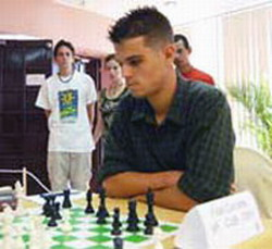 Cuban chess player Fidel Corrales in place 22 of World Junior Championship