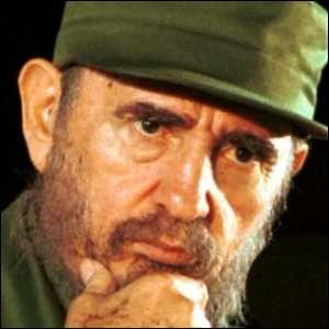 Fidel Castro Stresses Actions by Cuban People
