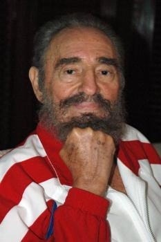 Recent picture of Fidel Castro