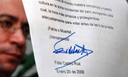 Cuban President Fidel Castro exercised his right to vote Sunday in Havana.