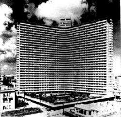 The Majestic FOCSA Building in Cuba