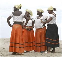 Ballet Folclórico Garífuna de Honduras en el Festival  Internacional del Caribe en Cuba
