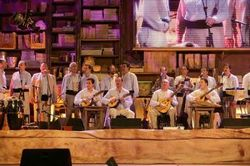 In Santiago de Cuba province Los Gofiones, one of the most popular artistic groups in the Canary Islands