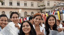 First jobs for new cuban graduates