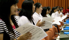 New Graduation of Third Spanish Language Improvers Course for Chinese students