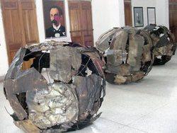 Plastic Arts Deliver Prize Guernica in Las Tunas Cuba