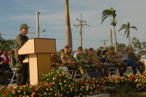 In Cuba Commemoration because of the 50th Anniversary of Camagueys Guerilla Front