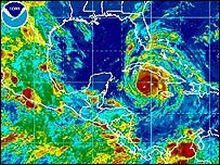 Hurricane Gustav Category 3 Heading for Cuba