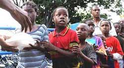 haiti ninos alimentos