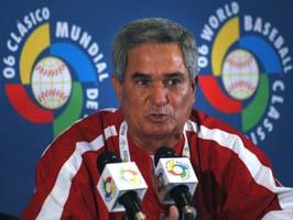 Higinio Velez dirigira el equipo Cuba al II Clasico Mundial de beisbol