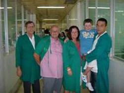 English boy grateful to cuban doctors