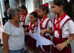 Cuban five Mother for US Women Help