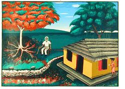 One of Cuba's Greatest Exponents of Naïf Painting, Ruperto Jay Matamoros, has Died.