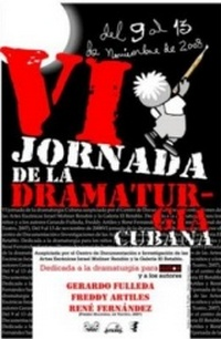 VI Event of Cuban playwright