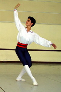 The third prize at the 10th International Ballet Student Competition in the Great Theater of Havana to dancer Julio Blanes