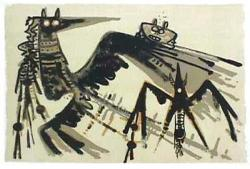 An exhibition with 14 works belonging to the Havana stage of the Cuban painter Wifredo Lam
