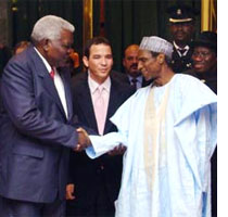 President of Nigeria Umaru Musa Yar'Adua described the relationship with Cuba as excellent