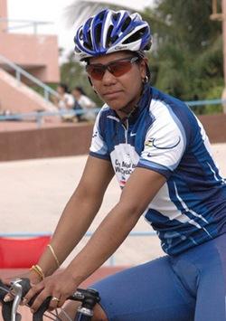 Cubana Lisandra Guerra fue septima en mundial de ciclismo y cedio su corona del orbe