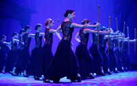 The Cuban Company ballet of Lizt Alfonso during 2008