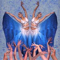 The Cuban dance company Lizt Alfonso Ballet on tour around Holland and Egypt