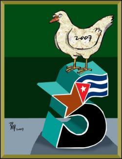 Relatives of Cuban Five Meet with Nordic Solidarity Brigade