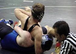Cuban Wrestler Mijaín López wins in 120 kg weight class