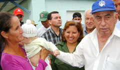 Cuban First Vice President touring the eastern province of Las Tunas, Cuba