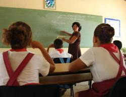 In Cuba Some 140 schools of the province of Las Tunas restarted the school year 2008-2009