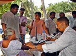 Cuban Doctors assist victims of Hurricane Felix in Nicaragua