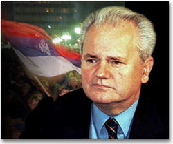 Cuban President Fidel Castro makes public a letter of Slobodan Milosevic