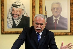 Palestine Authority Foreign Minister to Cuba