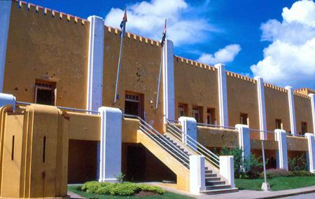 In Santiago de Cuba Moncada Museum Remodelled
