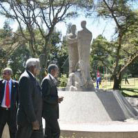 Monument to the Cuban internationalists that died in Ethiopia