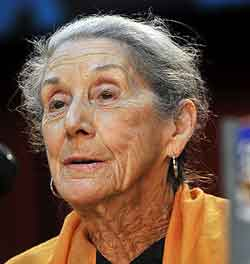 nadine gordimer color